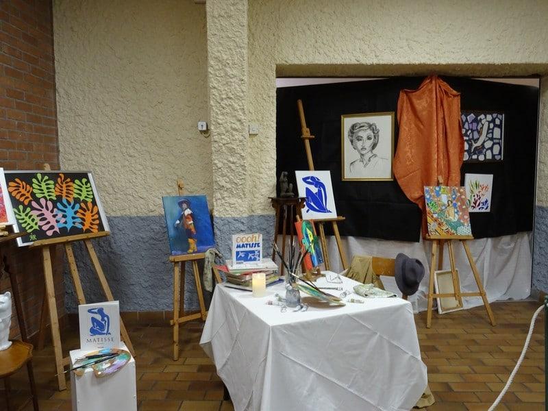 Devenir Matisse … avec Art E' Toiles