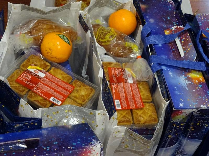 Distribution de 405 colis de Noël aux Aînés de la commune