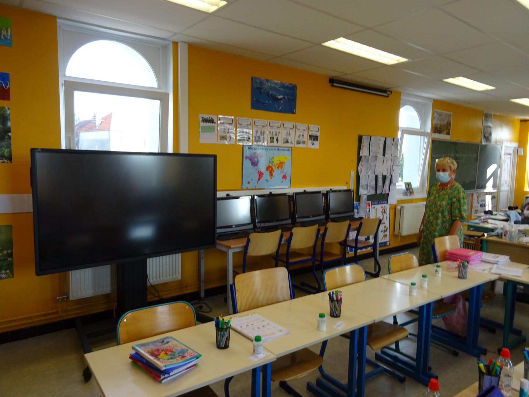 Une rentrée pseudo virtuelle à l'école Jules Ferry
